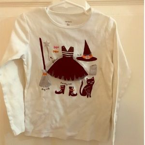 Carters Halloween Kid's long sleeve t-shirt size 5